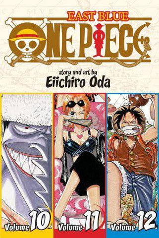 One Piece - Manga 3-in-1 Vol 004 (Volumes 10, 11, 12)