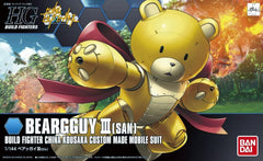 Mobile Suit Gundam - 1/144 HGBF Bearguy III (San)  Model Kit