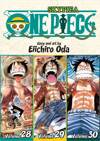 One Piece - Manga 3-in-1 Vol 010 (Volumes 28, 29, 30)