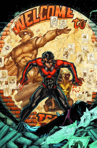 Nightwing - New 52 Second City VOL 4 TP