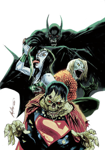 Justice League - Issue #35 New 52 MONSTER VARIANT