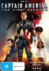Captain America - The First Avenger DVD [REGION 4]