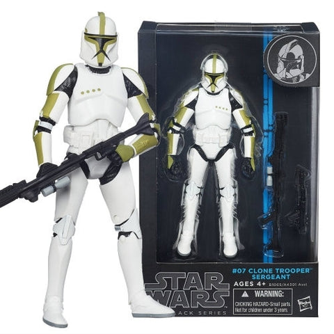 Star Wars - Black Series 6-Inch Figure: Clone Trooper Sergeant #007