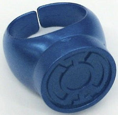 Green Lantern - Blue Lantern Plastic Ring