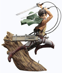 Attack on Titan - 1/8 Scale Eren Yaeger ArtFXJ Figure