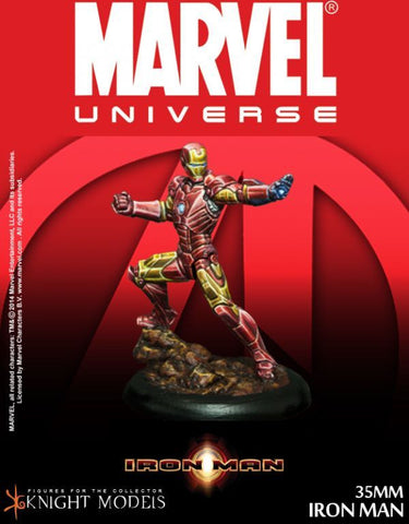 Knight Models - MARVEL Iron Man  35mm Miniature