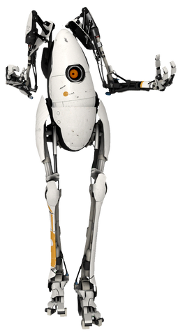 "Portal 2 - P-Body 7"" Figure with Light"