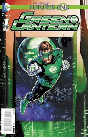 Green Lantern - Furtures End Comic Issue #1 LENTICULAR COVER