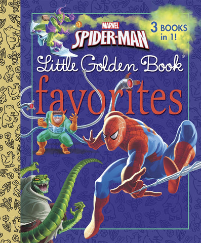 Spider-Man - Little Golden Books Favorites HC