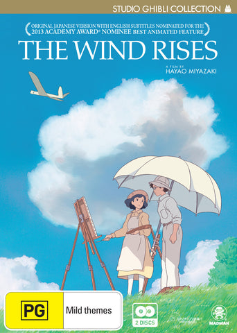 The Wind Rises - Anime DVD [REGION 4]