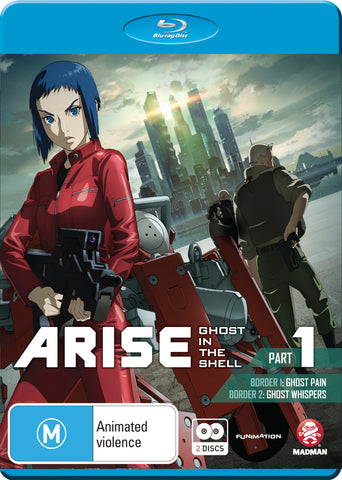 Ghost in the Shell - ARISE Part 1 Blu-Ray [REGION B]