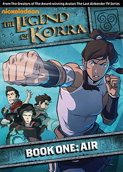 Legend of Korra, The - Book One: Air DVD [Region 4]