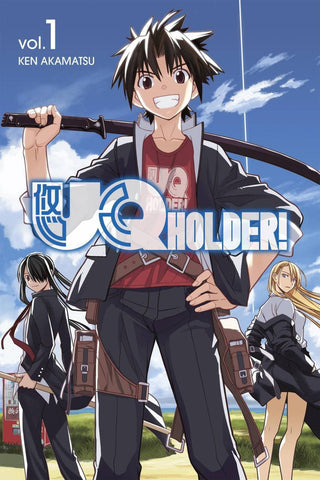 UQ Holder - Manga Vol 001