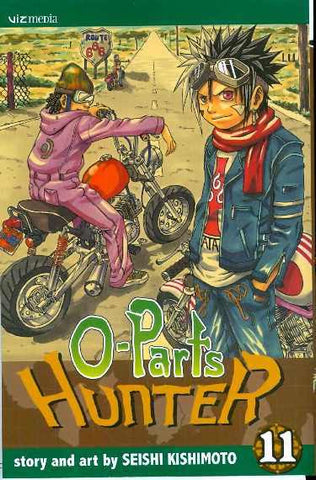 O-Parts Hunter - Manga Volume 011