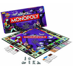 Nightmare Before Christmas - Monopoly Collector's Edition Game