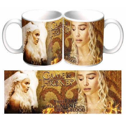 Game Of Thrones - Fire and Blood Coffee Mug