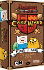 Adventure Time - Card Wars Game - Finn and Jake