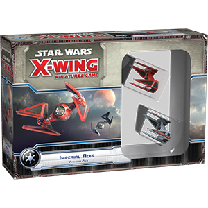 Star Wars - X-Wing Miniatures Game Imperial Aces Expansion Pack