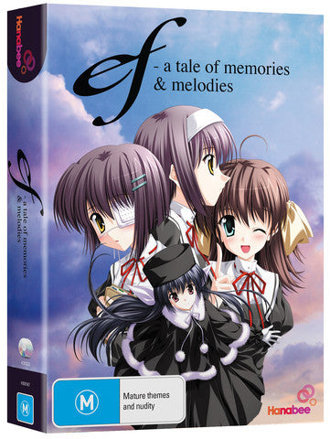 Ef - A Tale of Memories and Melodies - Anime DVD Box Set [Region 4]