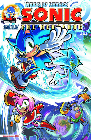 Sonic the Hedgehog - Issue #263