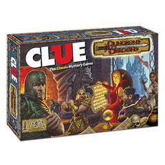 Dungeons & Dragons - Clue Game