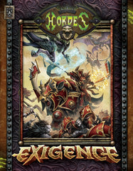 Hordes - Exigence Rule Book Hard Cover