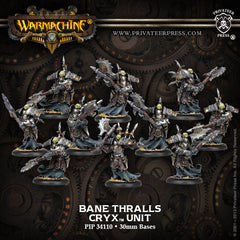 Warmachine - Cryx: Bane Thralls Unit BOX (10)