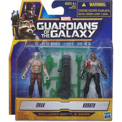 Guardians of the Galaxy - 2-Pack Figures Drax and Korath