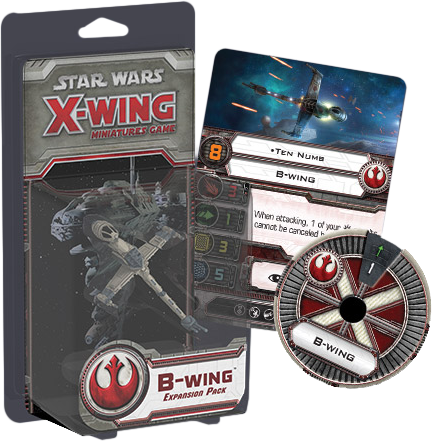 Star Wars - X-Wing Minatures Game B-Wing Expansion Pack
