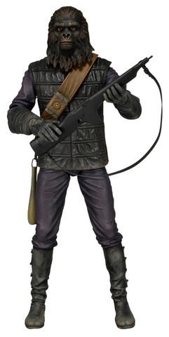 "Planet of the Apes - 7"" Series 1 Figure - Gorilla Soldier"