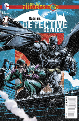 Detective Comics - Furtues End Comic Issue #1 Lenticular Cover