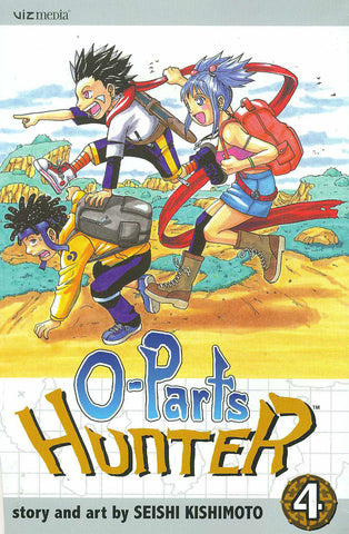 O-Parts Hunter - Manga Volume 004