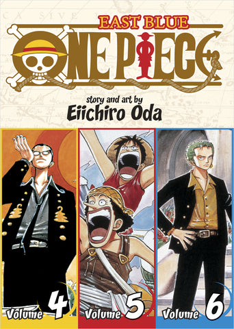 One Piece - Manga 3-in-1 Vol 002 (Volumes 4, 5, 6)
