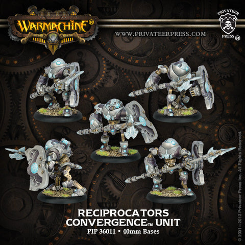 Warmachine - Convergence of Cyriss Reciprocators Convergence PLASTIC Unit Box (5 Models)