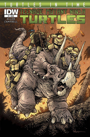 Teenage Mutant Ninja Turtles - Turtles in Time Comic Issue #1