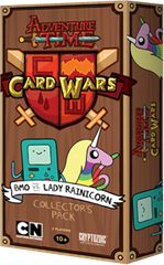 Adventure Time - Card Wars Game - BMO and Lady Rainicorn
