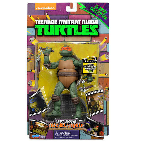 "TMNT - Classic Collector Movie 6"" Michelangelo Figure"