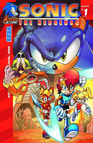 Sonic The Hedgehog - Issue #266