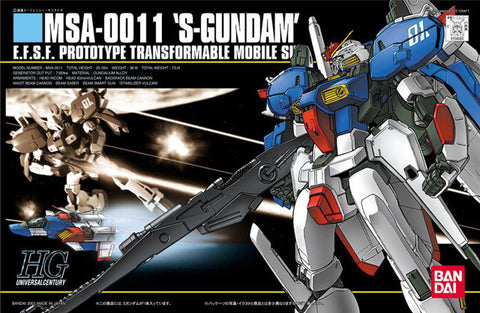 Gundam - 1/144 HGUC MSA-0011 S-Gundam Model Kit