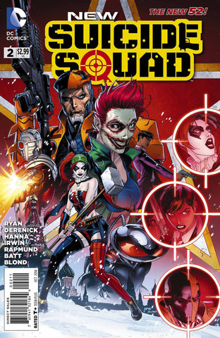 New Suicide Squad - New 52 Issue #2