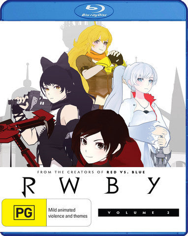 RWBY - Anime Season 2 Blu-Ray [REGION FREE]