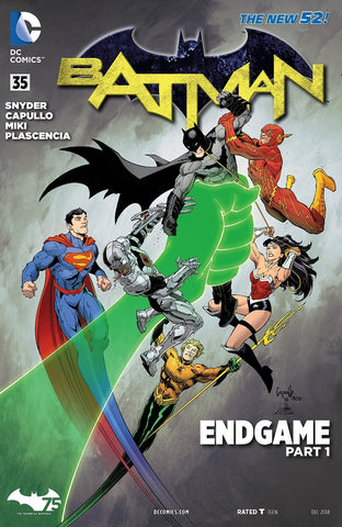Batman - New 52 End Game Part 1 Issue #35