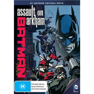Batman - Assault on Arkham DVD [REGION 4]
