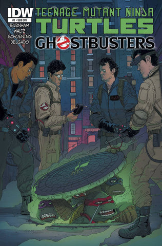 TMNT Ghostbusters - Issue #1 (of 4) SUBSCRIPTION VARIANT COVER