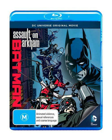 Batman - Assault on Arkham Blu-ray [REGION 4]