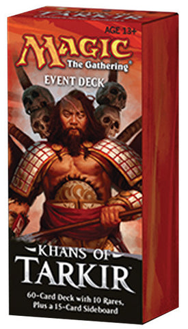 Magic the Gathering - Khans of Tarkir Event Deck