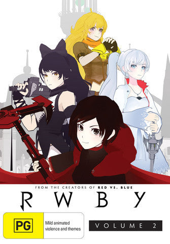 RWBY - Anime - Season 2 DVD [REGION FREE]