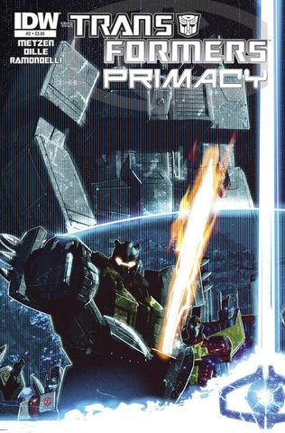Transformers - Primacy Comic Issue #2