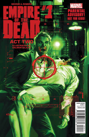 George A. Romero - Empire of the Dead Act Two Issue #1