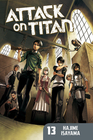 Attack on Titan - Manga VOL 013